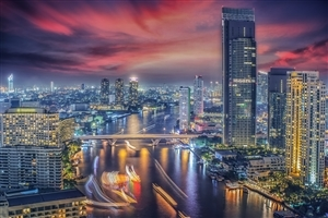 Bangkok City of Thailand Wallpaper